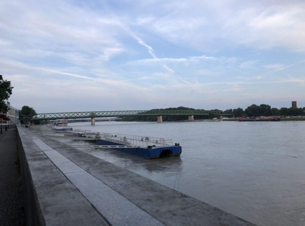 The Danube in Bratislava